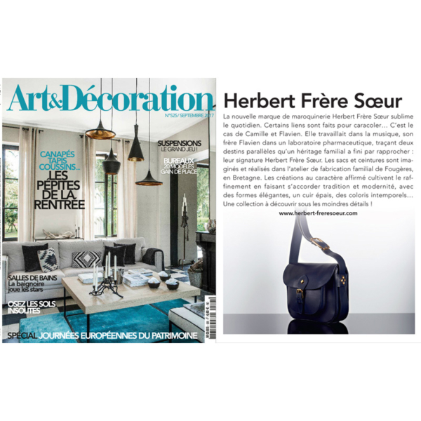ART&DECORATION - SEPTEMBRE 2017